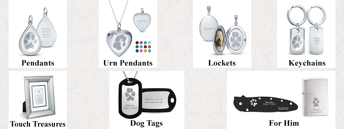 Keepsake Jewelry for your Pet