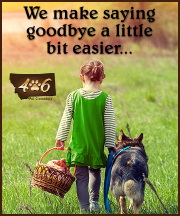 We make saying goodbye a little bit easier...